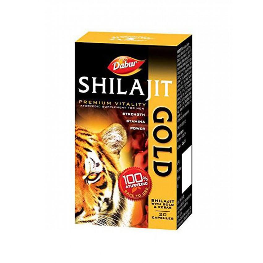 Dabur Shilajit Gold Capsules